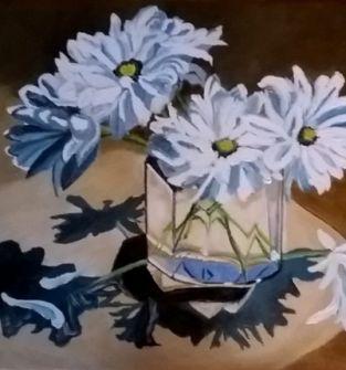Obrazy ręcznie malowane - akryl na płótnie.