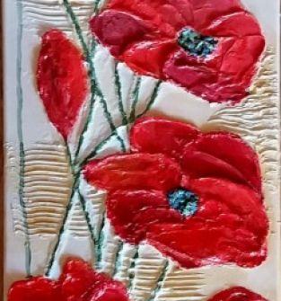 Obraz ręcznie malowny-akryl na płótnie