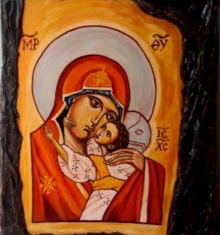 Ikona  - Matka Boża Elusa - Umilona