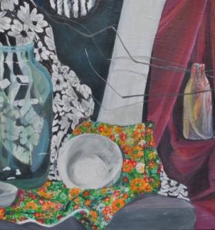 Martwa natura 3 - obraz recznie malowany