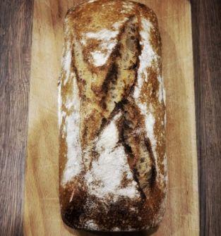 Chleb kanapkowy pszenny z płaskurka