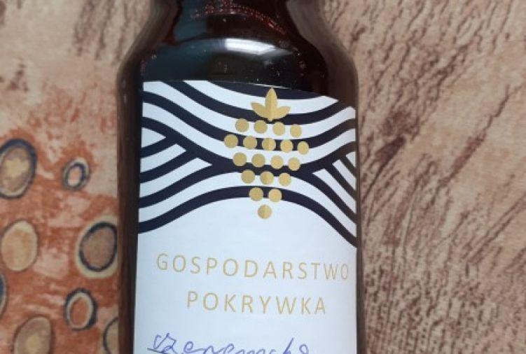 Syrop z czeremchy i dzikiej róży butelka 330 ml
