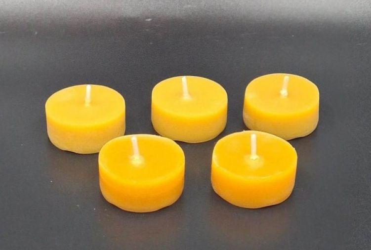 Zestaw 5 świec tealight
